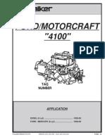 Ford Motorcraft carburation