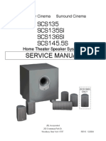 SCS135 136SI 145S Service Manual