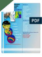 Brusur Penawaran Progam Geologi Tambang