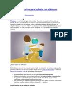 5 recursos educativos para trabajar con niños con autismo