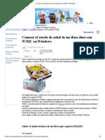 Conocer El Estado de Salud de Un Disco Duro Con WMIC en Windows