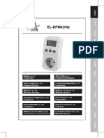 EL-EPM02HQ Energy Power Meter Manual
