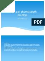 Single pair shortest path problem