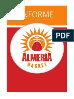 Informe Almería Basket Temporada 2013/2014