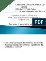 Ciclo Rankine  Reaquecimento e Reneração.pdf