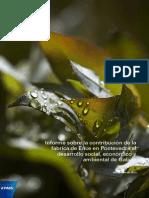 Ence. Contribución Pontevedra y Galicia. Informe KPMG.