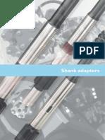 Shanks adapters rock drill