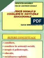 1. Consiliere - concepte