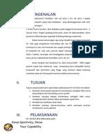 Formulir pendaftaran SFC VIII 2013
