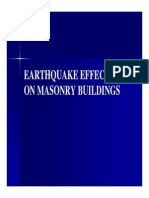 Eq Damage Masonry