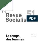 La Revue socialiste n°51 Le Temps Des Femmes