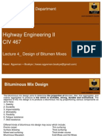 4_Design of Bitumen Mixes