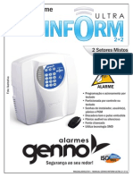 Manual Genno - Alarme Inform Ultra 2+2 v1