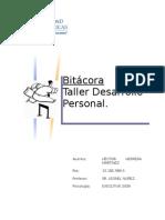 Bitacora Taller Desarrollo Personal