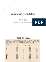 Volumetric Precitimetry