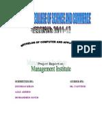 Institute Management