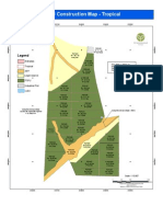 Greenwood Management Fazenda Tropical site construction map.