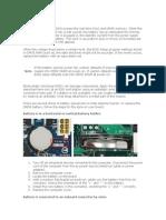Como Cambiar la Batería de la Compu Acer