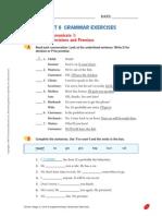 Unit 6 Grammar Exercises (2)