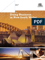 Doing Business in New South Wales