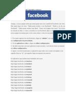 Pegou vírus no Facebook