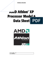 AMD Athlon XP Processor Model 6 Data Sheet