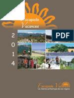 Escapade Brochure 2014