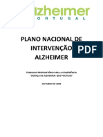 Proposed National Strategy by Alzheimer Portugal (in Portuguese)