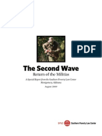 SPLC Report - Militias, The Second Wave