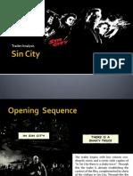 Sin City Trailer Analysis