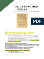 Droit de La Sanction Penale