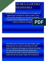 Ejercicio de La Locura Instantanea PDF