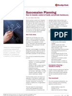 Succession Planning Screen
