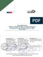AOC 1.1 - Procedimiento Alerta y Organización en Situaciones de Emergencia con Riesgo Vital HRR V4-2012