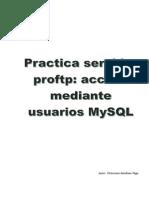 Practica PROFTP+Mysql
