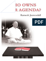 Who Owns Your Agenda? by Ramesh Jeewoolall
