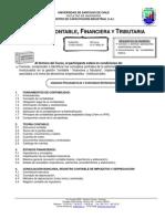gestión contable, financiera y tributaria