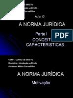 Aula 13 - IED - Norma Juridica