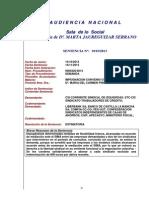 Sentencia Audiencia Nacional Contra Liberbank, Ccoo y Ugt