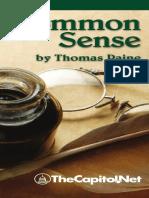 Common Sense, by Thomas Paine