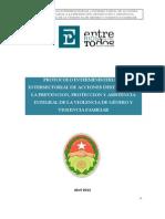 Protocolo Violencia y Genero Entre Rios