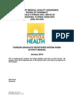 Info Foriegn Grad Reg Intern Manual