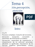 Tema 4 Sensacion Percepcion Atencion