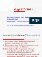 Mikrobiologi.ppt;2012 Kuliah 1