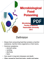 Bacterial Food Intoxication