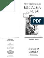 805_Đilas, Milovan, Besudna zemlja, Politika-Narodna knjiga, 2005