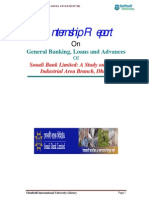 General Banking, Loans and Advances