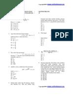 Latihan Soal SNMPTN 2010 Matematika Package1