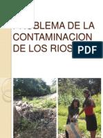Problema de La Contaminacion de Los Rios