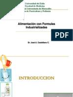 Alimentación con fórmulas industrializadas 2012